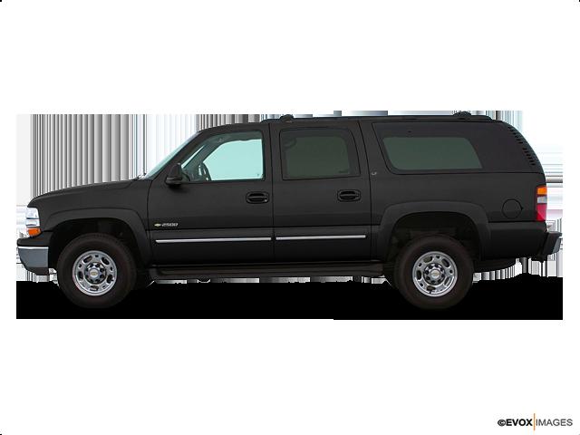 2003 Chevrolet Suburban 2500 LT, Black (Black), 4 Wheel