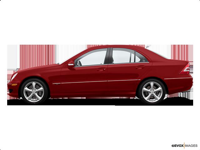 2006 Mercedes-Benz C-Class C 230 Sport, Mars Red (Red & Orange), Rear Wheel