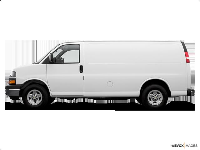 2006 Chevrolet Express Cargo 3500, Summit White (White), Rear Wheel