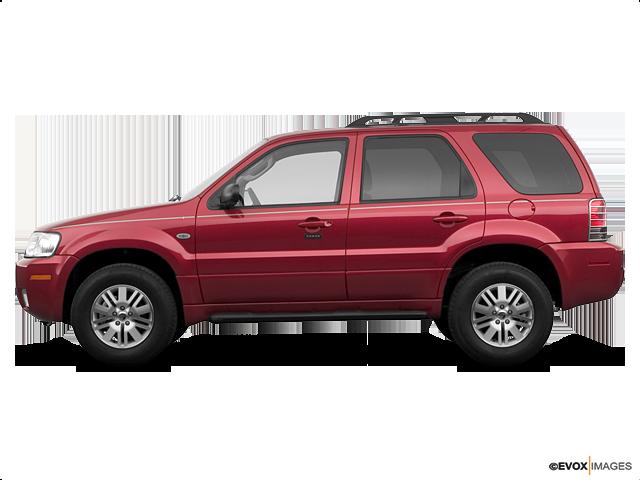 2006 Mercury Mariner Premier | Brandon, SD, Vivid Red Clearcoat Metallic (Red), All Wheel