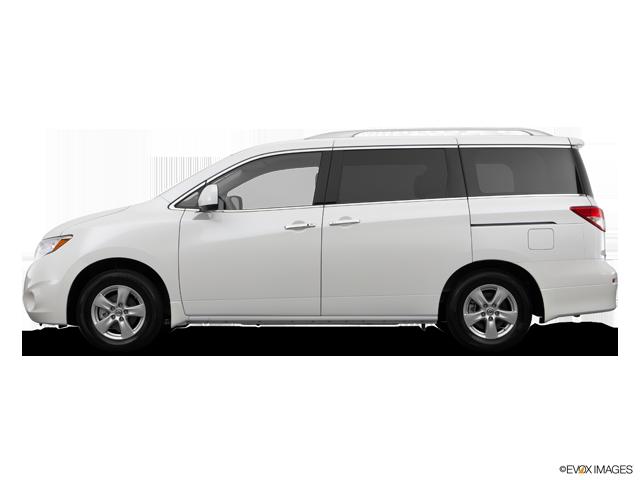 2014 Nissan Quest 3.5 S   Winchester, VA, Pearl White (White), Front Wheel