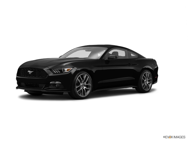 2015 Ford Mustang EcoBoost, Black (Black), Rear Wheel
