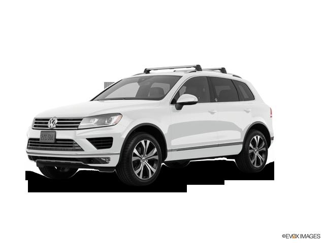 2017 Volkswagen Touareg V6 Wolfsburg, Pure White (White), All Wheel