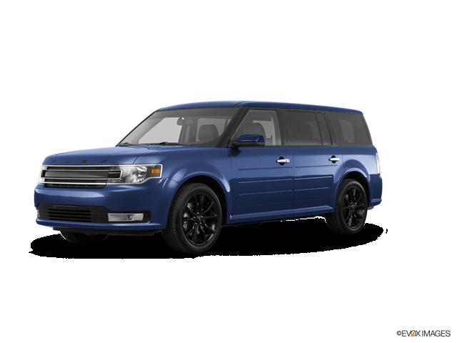 2018 Ford Flex SEL, Blue (Blue), All Wheel