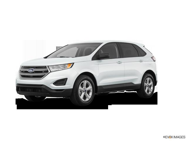 2018 Ford Edge SE   Sioux Falls, SD, Oxford White (White), Front Wheel