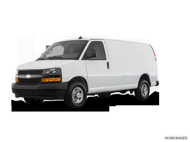 2018 Chevrolet Express Cargo 2500, Summit White (White), Rear Wheel