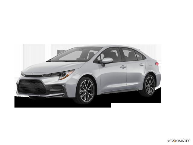 2020 Toyota Corolla SE, Classic Silver Metallic (Silver), Front Wheel
