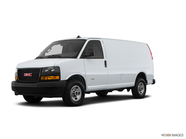 2019 GMC Savana Cargo 2500, Summit White (White), Rear Wheel