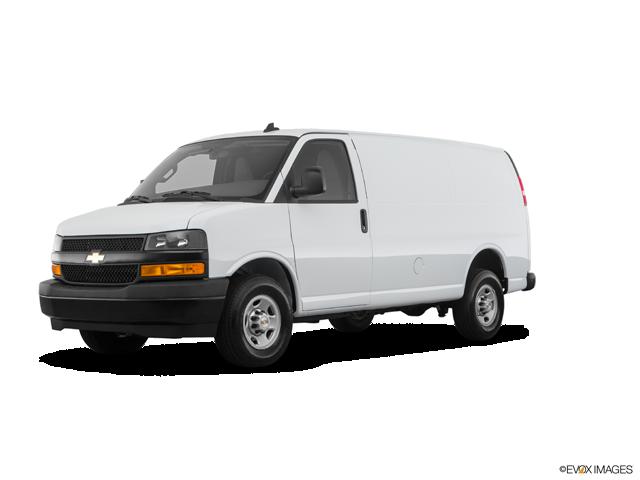 2020 Chevrolet Express Cargo 2500 | Huron, SD, Summit White (White), Rear Wheel