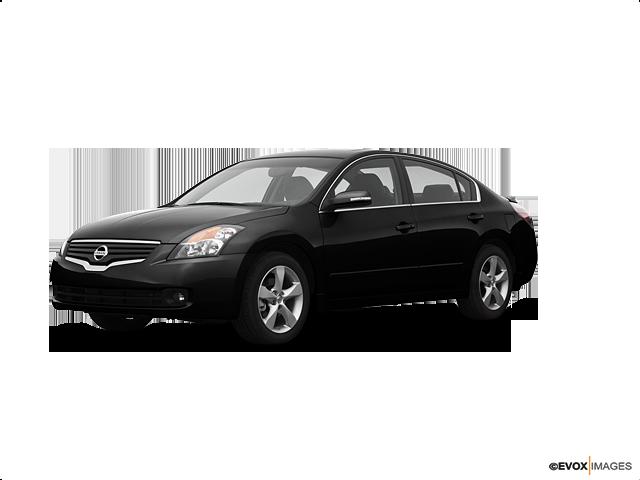 2008 Nissan Altima 2.5, Super Black (Black), Front Wheel