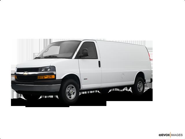 2008 Chevrolet Express Cargo 3500, Summit White (White), Rear Wheel