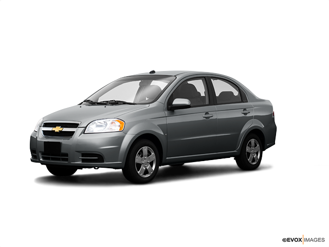 2009 Chevrolet Aveo LS, Medium Gray (Gray), Front Wheel