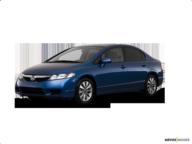 2010 Honda Civic EX | Las Vegas, NV, Atomic Blue Metallic (Blue), Front Wheel