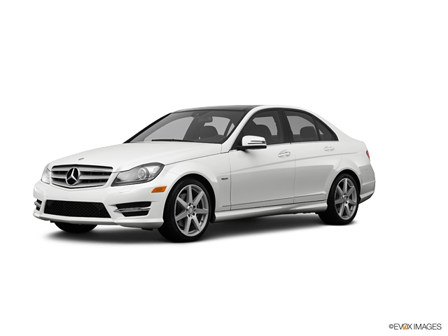 2012 Mercedes-Benz C-Class C 300 Sport 4MATIC, Arctic White (White), All Wheel