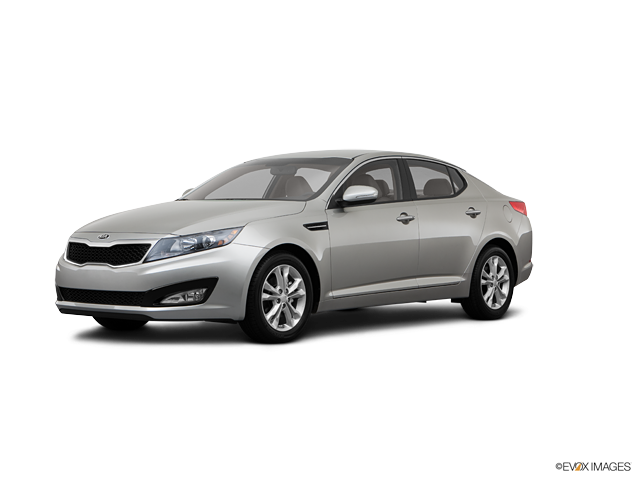 2013 Kia Optima EX, Satin Metal (Gray), Front Wheel