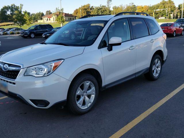 2014 Subaru Forester 2.5i Premium, Satin White Pearl (White), All Wheel