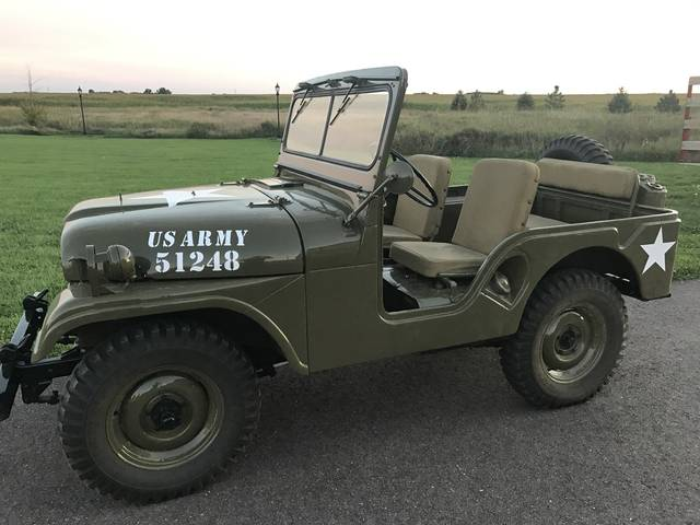 1954 Jeep CJ-5 Willys, Green, 4x4