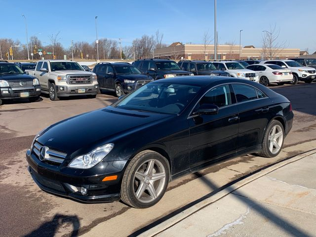 2009 Mercedes-Benz CLS CLS 550, Platinum Black (Black), Rear Wheel