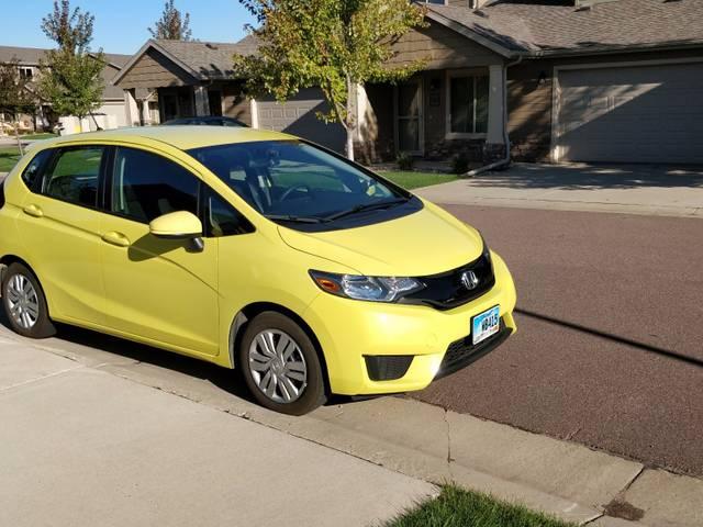 2015 Honda Fit LX, Mystic Yellow Pearl (Yellow), Front Wheel