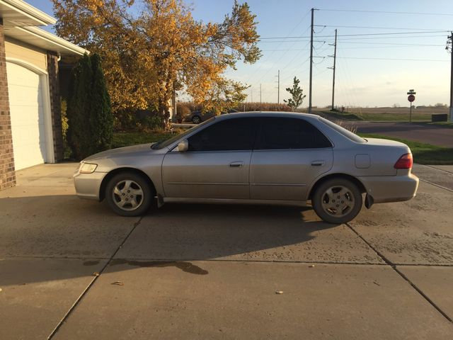 1999 Honda Accord EX, Satin Silver Metallic (Silver), Front Wheel