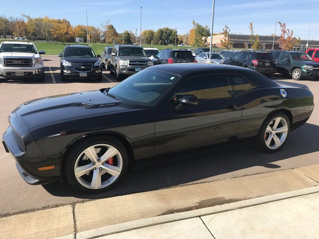 2008 Dodge Challenger SRT8, Brilliant Black Crystal Pearl Coat (Black), Rear Wheel