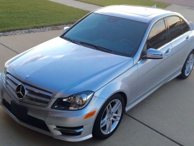 2013 Mercedes-Benz C-Class C 300 Sport 4MATIC, Diamond Silver Metallic (Silver), All Wheel