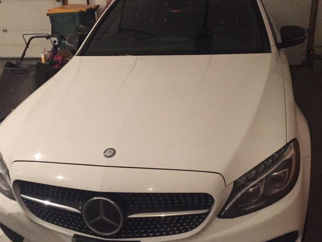 2016 Mercedes-Benz C-Class C 450 AMG, Polar White (White), All Wheel