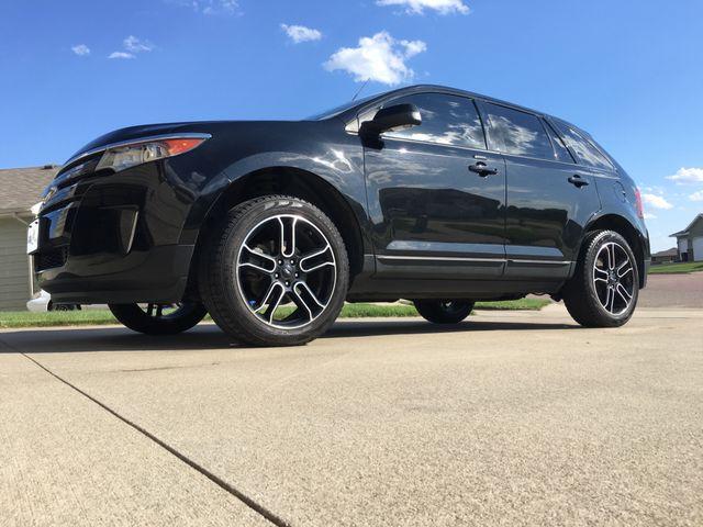 2014 Ford Edge SEL, Tuxedo Black Metallic (Black), All Wheel
