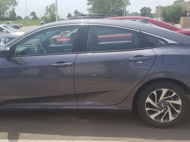 2017 Honda Civic EX, Polished Metal Metallic (Gray), Front Wheel