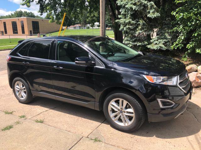 2016 Ford Edge SEL, Shadow Black (Black), Front Wheel