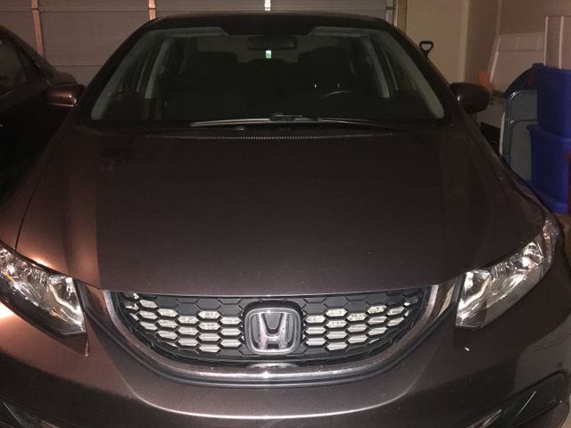 2016 Honda Civic, Modern Steel Metallic (Gray), Front Wheel