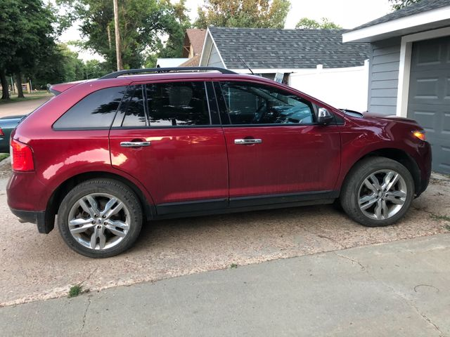 2014 Ford Edge SEL, Ruby Red Metallic Tinted Clearcoat (Red & Orange)