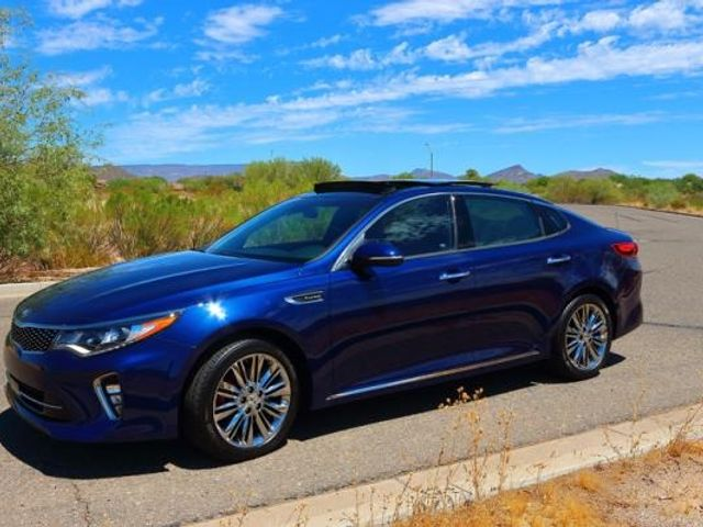 2018 Kia Optima S, Horizon Blue (Blue), Front Wheel