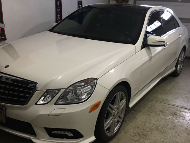 2010 Mercedes-Benz E-Class E 350 Luxury 4MATIC, Arctic White (White), All Wheel