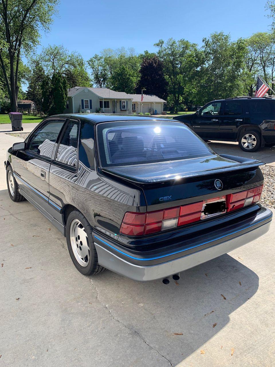 1987 Dodge Shadow Base | Toledo, OH, Black, Front Wheel