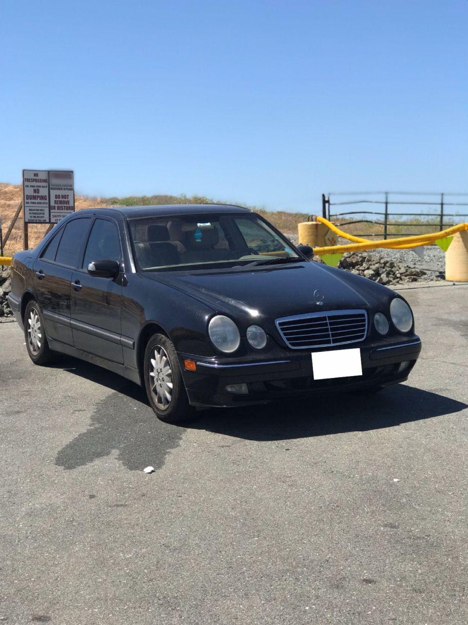 2000 Mercedes-Benz E-Class E 320   Concord, CA, Black (Black), Rear Wheel