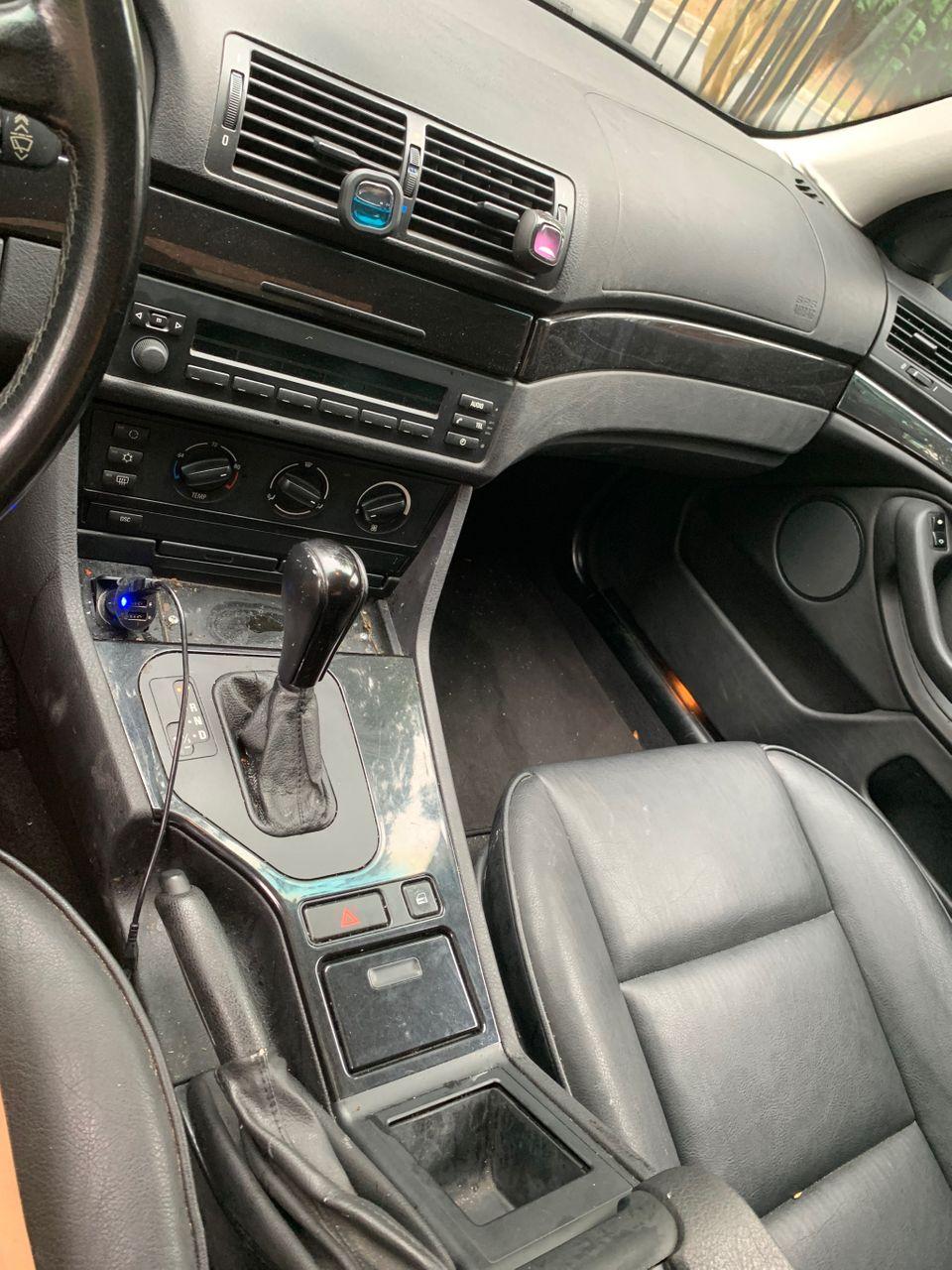 2001 BMW 5 Series 525i | Smyrna, GA, Steel Blue Metallic (Blue), Rear Wheel