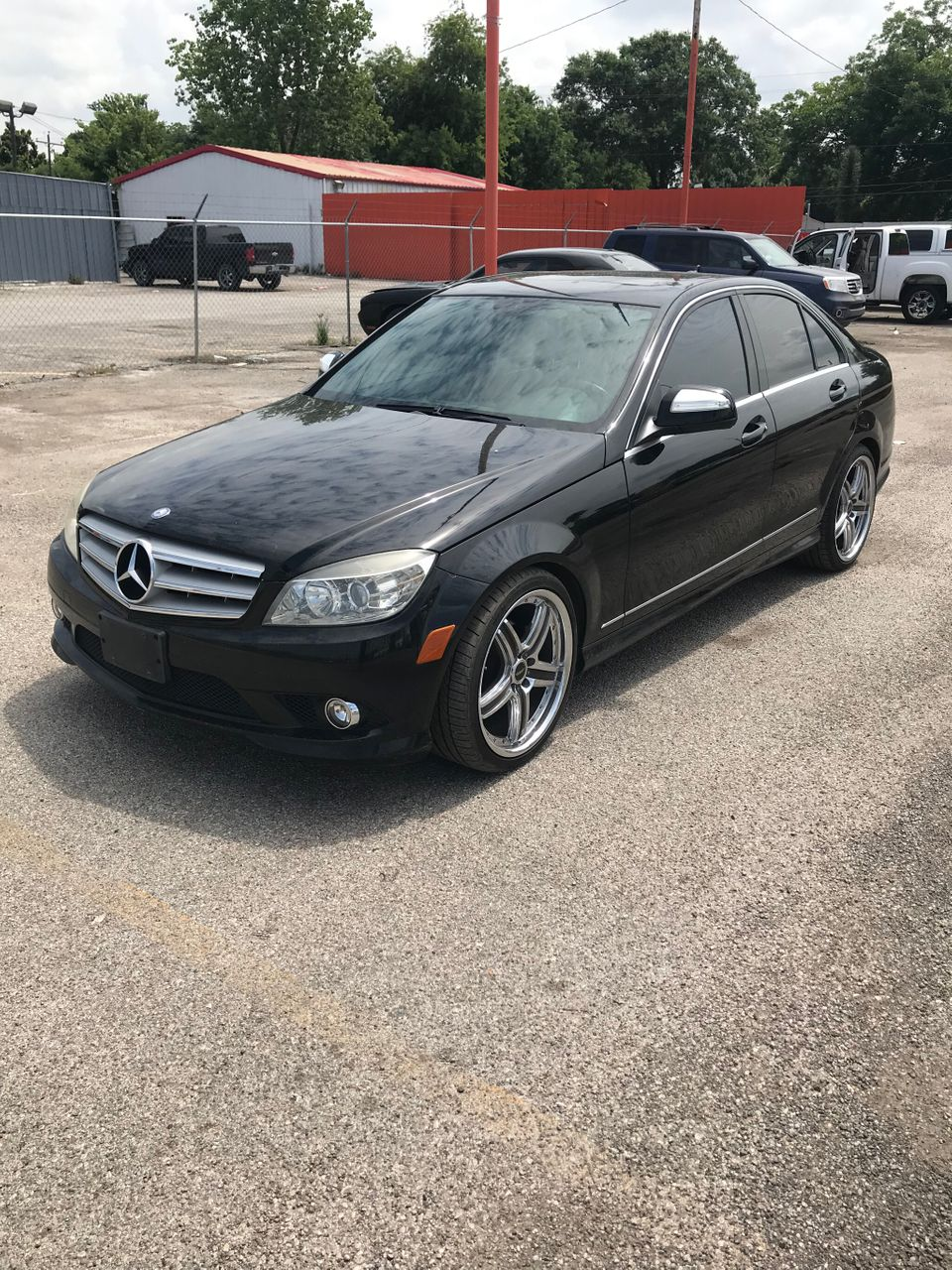 2009 Mercedes-Benz C-Class | Houston, TX, Black (Black)