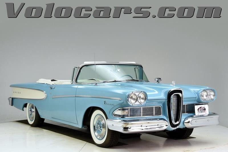 1958 (Edsel) | Sioux Falls, SD, Blue, Rear Wheel