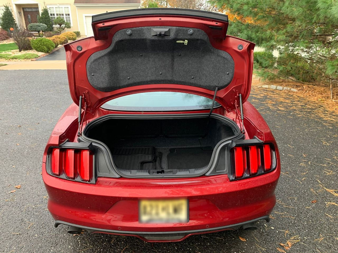 2017 Ford Mustang EcoBoost Premium | Jackson, NJ, Ruby Red Metallic Tinted Clearcoat (Red), Rear Wheel