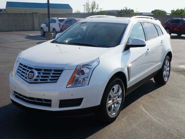 2012 Cadillac SRX Premium Collection, Platinum Ice Tricoat (White), All Wheel