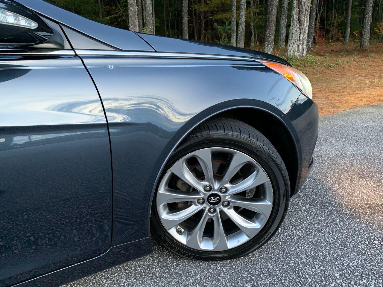2012 Hyundai Sonata Limited 2.0T   Loganville, GA, Pacific Blue Pearl (Blue), Front Wheel