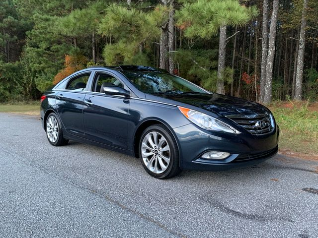 2012 Hyundai Sonata Limited 2.0T, Pacific Blue Pearl (Blue), Front Wheel