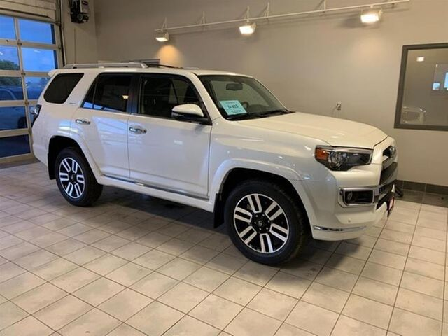 2019 Toyota 4Runner Limited, Blizzard Pearl (White), All Wheel