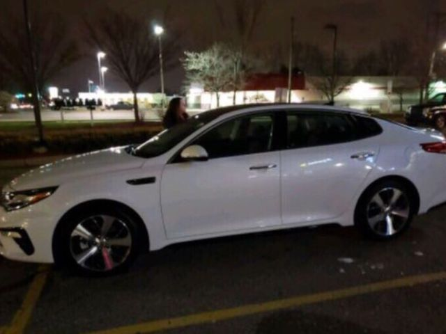 2019 Kia Optima EX, Snow White Pearl (White), Front Wheel
