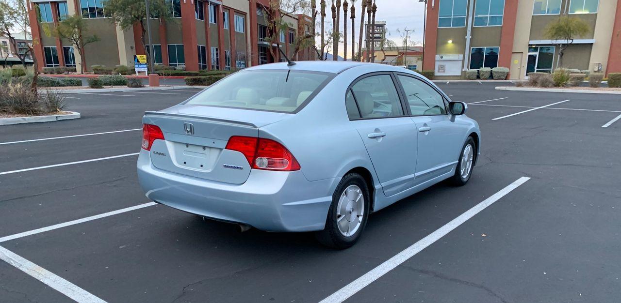 2006 Honda Civic Hybrid w/Navi   Las Vegas, NV, Opal Silver Blue Metallic (Blue), Front Wheel