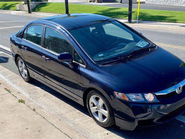 2010 Honda Civic EX, Atomic Blue Metallic (Blue), Front Wheel