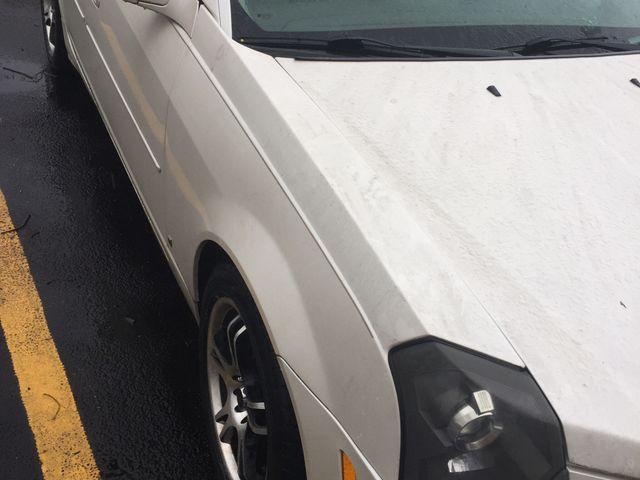 2007 Cadillac CTS, White Diamond (White), Rear Wheel