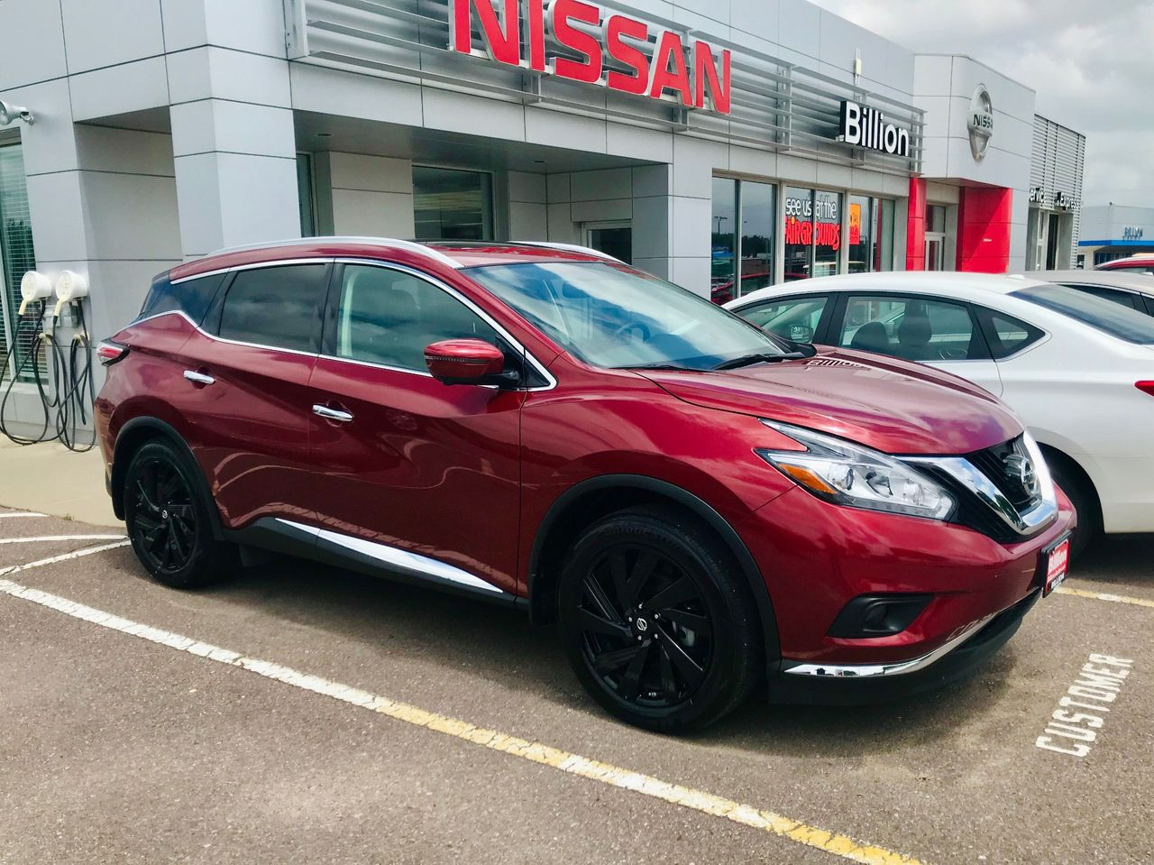 2018 Nissan Murano Platinum | Brandon, SD, Cayenne Red (Red), All Wheel