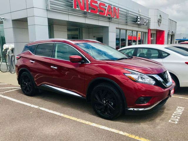 2018 Nissan Murano Platinum, Cayenne Red (Red), All Wheel